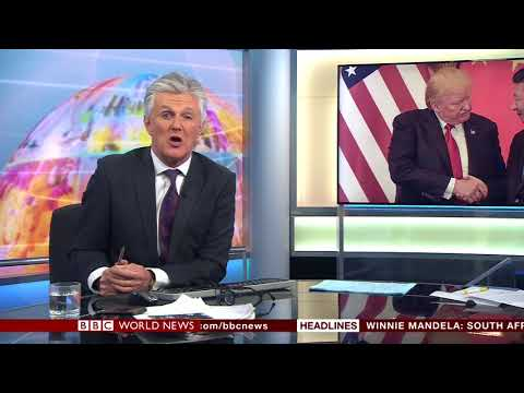 Global from Studio C on BBC World News with Tim Willcox