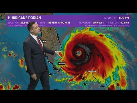 Hurricane Dorian Update: