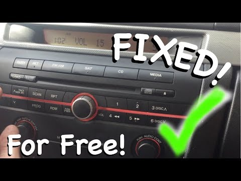 Mazda 3 Radio does not work - FIXED in less than five Minutes - YouTube
