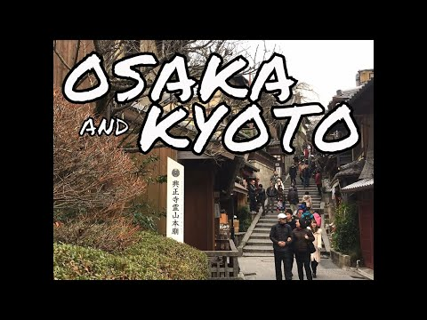 First Time in Japan l OSAKA & KYOTO (December 2016)