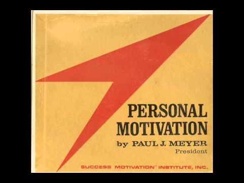 Paul J. Meyer - Personal Motivation (1965)
