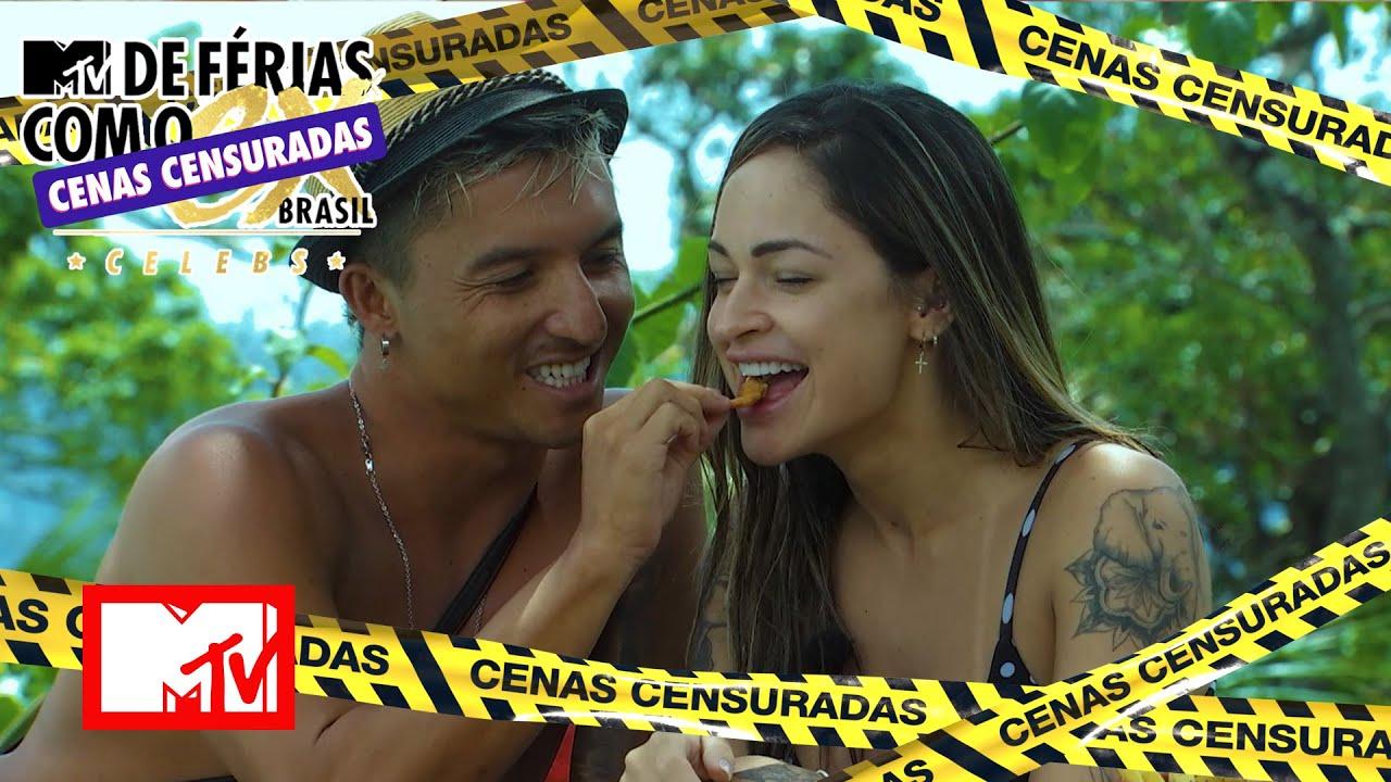 Download Naka seduz Letícia com camarão empanado | MTV De Férias Com O Ex Brasil Celebs: Cenas Censuradas