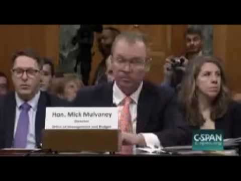 Senate Budget Committee hearing on Trump Budget Proposal May 25 2017