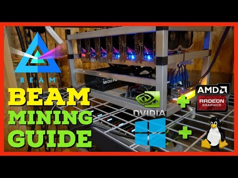 Ultimate BEAM Coin Mining Guide - How To Mine On Windows