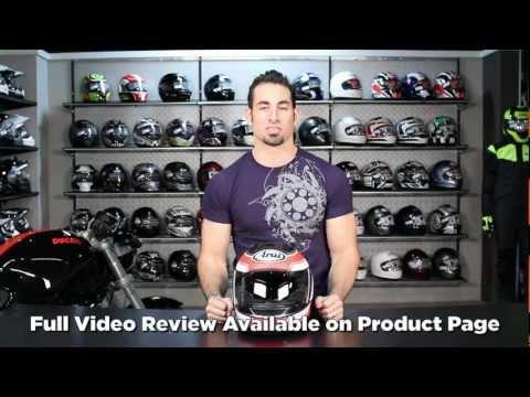 Arai Corsair V Nicky 3 Stars Helmet Review at RevZilla.com