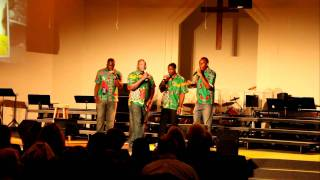 The Zambian Acapella Brothers from the Concert of Hope at Bethel Baptist Church