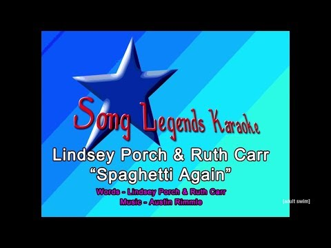 """Song Legends Karaoke: Lindsey Porch and Ruth Carr """"Spaghetti Again"""""""