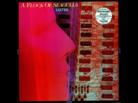 A Flock Of Seagulls - 1983 - Listen LP