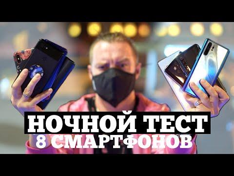 НОЧНОЙ РЕЖИМ: Samsung, Xiaomi, iPhone, Huawei, Pixel - У КОГО  Лучше?