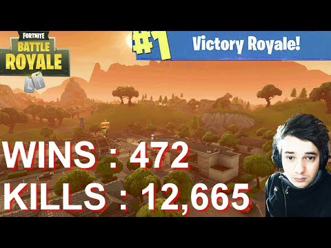 [FR/PC/LIVE] Fortnite en solo 472 wins!