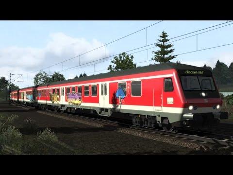 Train Simulator 2017 - Bnrdzf483 + BR111 Rosenheim - München