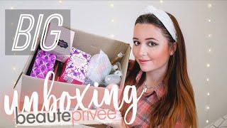 UNBOXING BEAUTÉ PRIVÉE (Victoria Secret, Essie, Lola, Real Techniques...)
