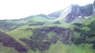 German Alps Oberstdorf bike ride trail end