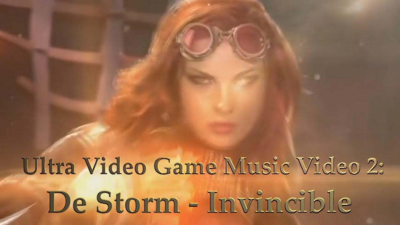 "Download Ultra Video Game Music Video 2: ""DeStorm - Invincible"""