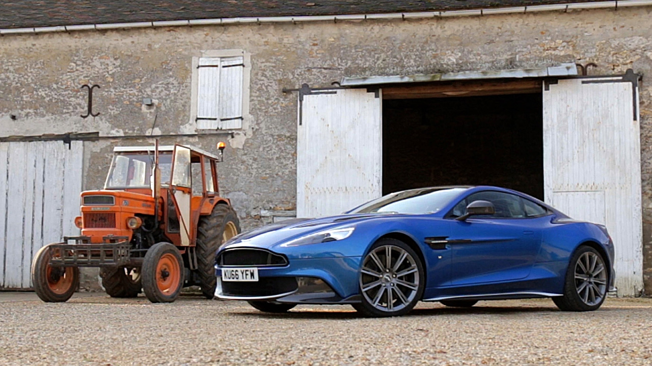 Essai Aston Martin Vanquish S 2017 Youtube