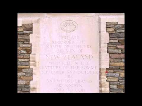 Cimetière militaire de Longueval (Caterpillar valley) + le mémorial néo zélandais(80)