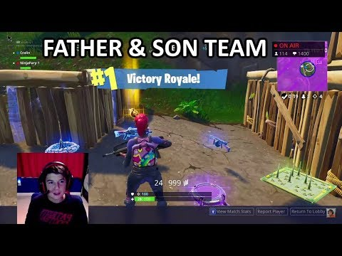 fornite-bad-family-team-/-funny-/-2-wins-live