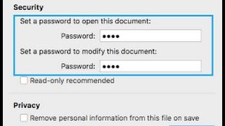 Đặt mật khẩu cho file word 2016 và sao lưu chống virus tống tiền