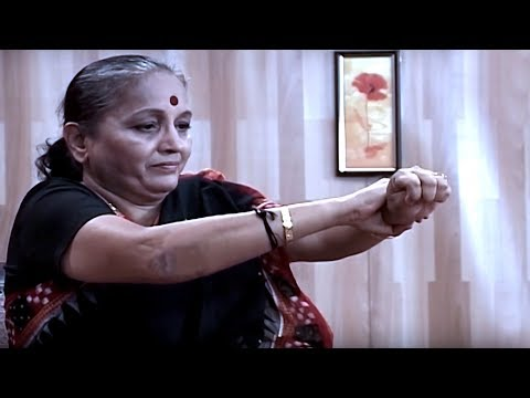 Body Management with chair | Yoga for Old Age | Yoga for Sciatica & Back Pain in Tamil