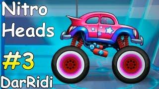 безумные машины - Nitro Heads - крутые трюки - донат на игру #3