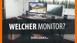 ⭐ Monitor Kaufberatung für FOTOGRAFEN & DESIGNER | Das musst du beachten! David Cray