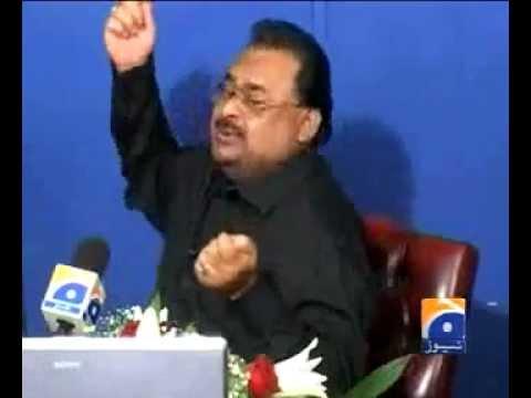 Altaf Hussain Singing song.. burkhay mein rehnay do burkha na uthooo..