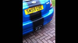 Mini Cooper S Stock Exhaust Popping/Crackling