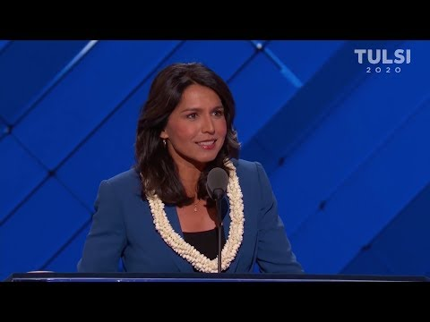 Tulsi Gabbard always puts principles over party
