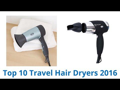 10 Best Travel Hair Dryers 2016