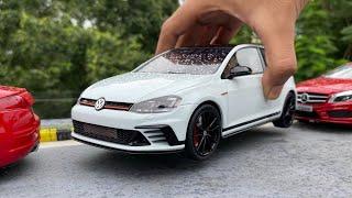 Ultra-Realistic Volkswagen GOLF GTI Scale Model Car   Hot Hatchback   Miniature Automobiles