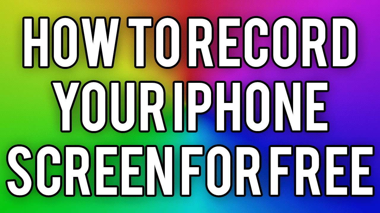 how to add i phone screen video to youtube