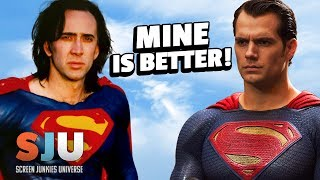 Nic Cage Says His Imaginary Superman Beats Man of Steel - SJU