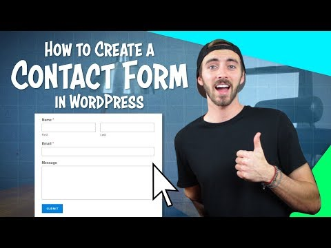 How To Create A Contact Form In WordPress | For FREE!