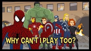 Spider-Man Wants To Be An Avenger Too! - The Cutting Room