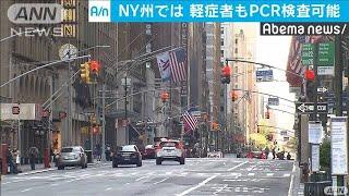 重症・軽症無関係 誰でもPCR検査可能に 米NY州(20/04/29)