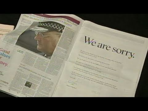 Rupert Murdoch Scandal: Owner of  Corp. Apologizes Amid U.K. Hacking Scandal