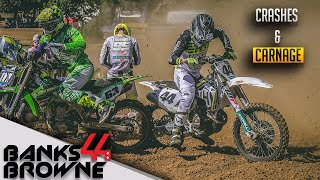 MX CRASHES, BATTLES and CARNAGE - CANADA HEIGHTS MX NATIONALS