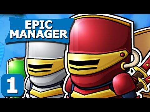 Epic Manager Part 1 - Tutorial - Epic Manager Steam PC Gameplay Review