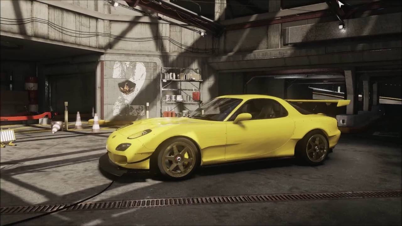 The Crew Initial D fifth stage Keisuke Mazda RX-7 build ...