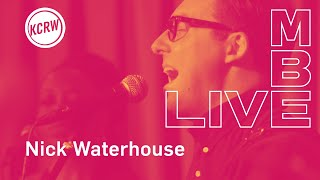 "Nick Waterhouse performing ""Wherever She Goes"" live on KCRW"