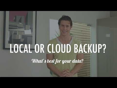 Local Backup vs Cloud Backup: What's the right choice?