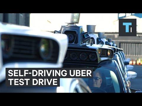 Self-driving Uber test drive