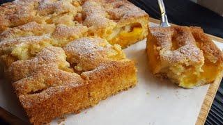 ВЕЛИКОЛЕПНЫЙ АБРИКОСОВЫЙ ПИРОГ от МАРТЫ СТЮАРТ 🍥🍥🍥 Apricot pie