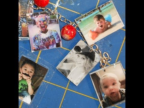 Resin Photo Charms
