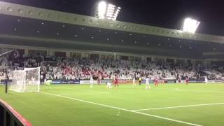 Qatar defeated Syria 1-0 in the 2018 World Cup qualifier match