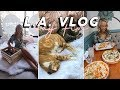 L.A. VLOG DAY FIVE: MELROSE TRADING POST & CAT CAFE!!! | GwenGwizEtc