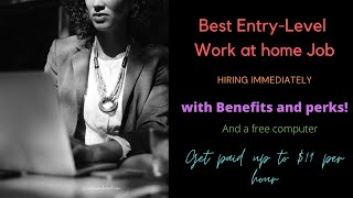 Best Entry-Level W@H Jobs Paying Up To $19 Hourly (Free Equipment!) Hiring Immediately