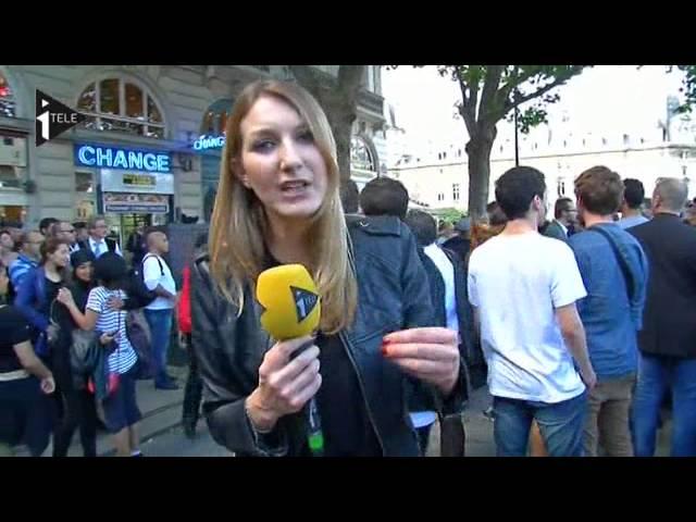 Deces De Clement Une De Nos Journalistes Prise A Partie Youtube
