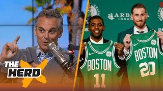 Did the Celtics have the best rebuild ever? Kristine and Colin discuss | THE HERD