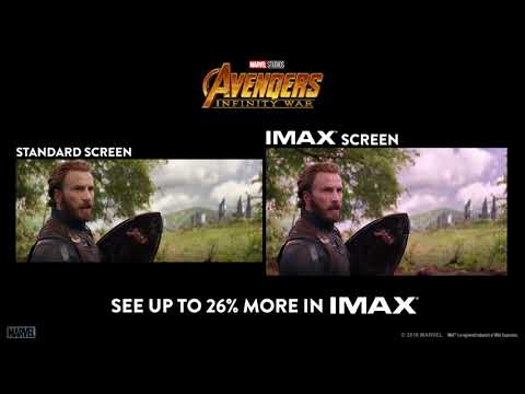 Avengers: Infinity War Side by Side IMAX Screen - Cinema 21